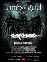 Lamb of God, Carcass y Heaven Shall Burn juntos en Chile