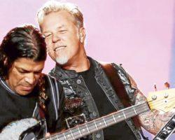 """Metallica publica oficialmente su actuación de """"Moth Into Flame"""" en Chile"""