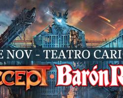 Accept y Barón Rojo juntos en Chile en noviembre