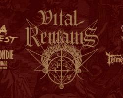 Revisa detalles del Chargola Fucking Fest Blood que encabezarán Vital Remains