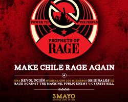 Confirmado: Prophets of Rage llega a Chile en Mayo 2017