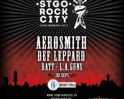 Ratt y L.A. Guns se suman a la segunda jornada del Santiago Rock City