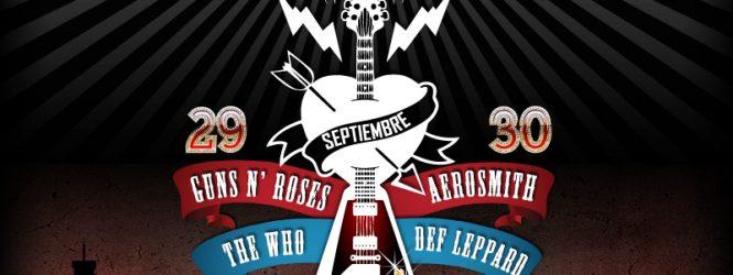Aerosmith, Guns'N'Roses, Def Leppard y The Who en Chile: Confirmado el Stgo. Rock City