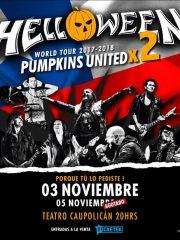 Se confirma segunda fecha de reunión histórica de Helloween en Chile