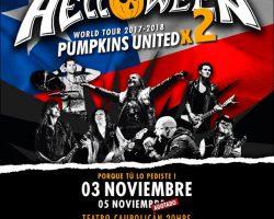 Reunión histórica de Helloween en Chile agenda segunda fecha