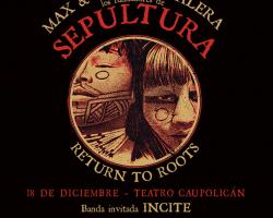 "Show de ""Roots"" de los hermanos Cavalera anuncia a Incite como banda de apertura"