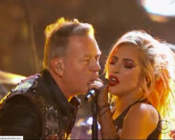 VIDEO: Mira a Metallica y Lady Gaga compartiendo escenario en los Grammy's 2017