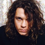 Mandatory Credit: Photo by Ilpo Musto/Rex/REX USA (744380u) INXS at a hotel room in Glasgow - Michael Hutchence Various
