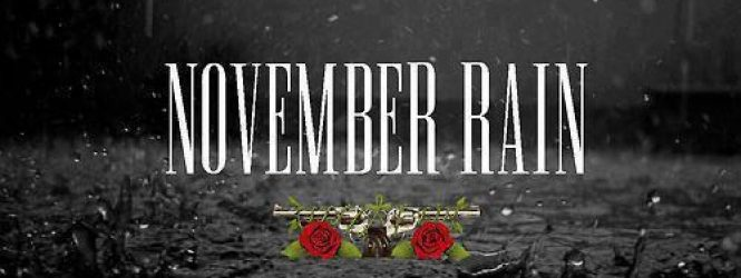 "Cancionero Rock: ""November Rain""- Guns 'N' Roses (1992)"