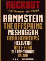 Rockout en Chile: Rammstein y The Offspring encabezan su nueva versión