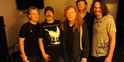VIDEO: Así fue el emotivo homenaje de Dave Mustaine junto a Megadeth a Chris Cornell
