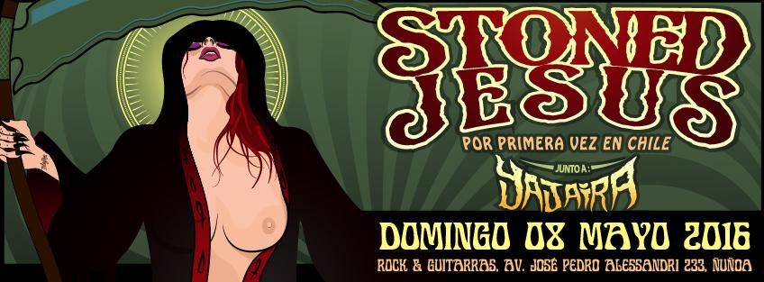 Stoned Jesus llegan a por primera vez a Chile para realizar concierto junto a Yajaira