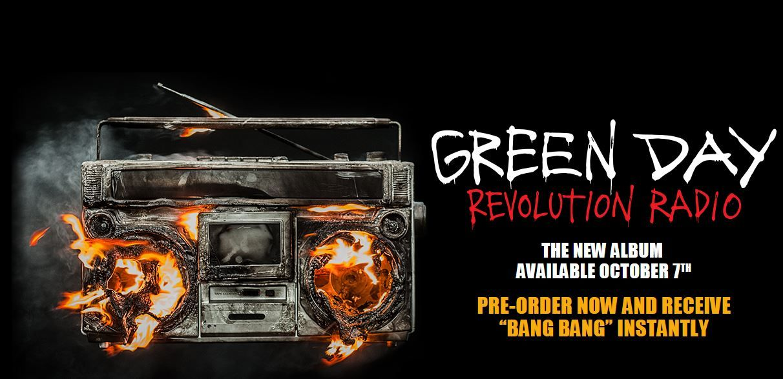 """Green Day anuncia """"Revolution Radio"""", nuevo álbum de estudio, escucha el primer single"""