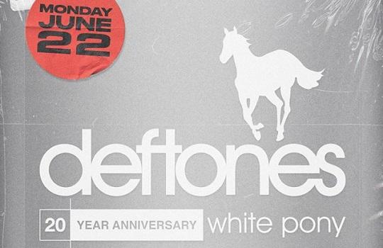 """Deftones celebrará los 20 años de """"White Pony"""" con una Listening Party en distintas ciudades del mundo"""