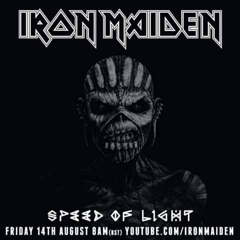 Escucha 'Speed of Light', el primer single oficial de Iron Maiden en cinco años