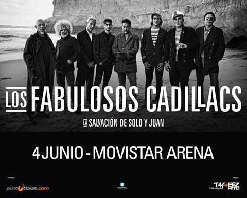 Los Fabulosos cadillacs vuelven a Chile a presentar su nuevo disco de estudio