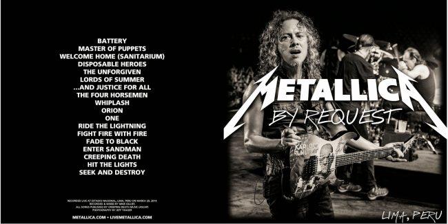 Metallica Mondays: Metallica transmitirá un show en Perú de 2014 este lunes