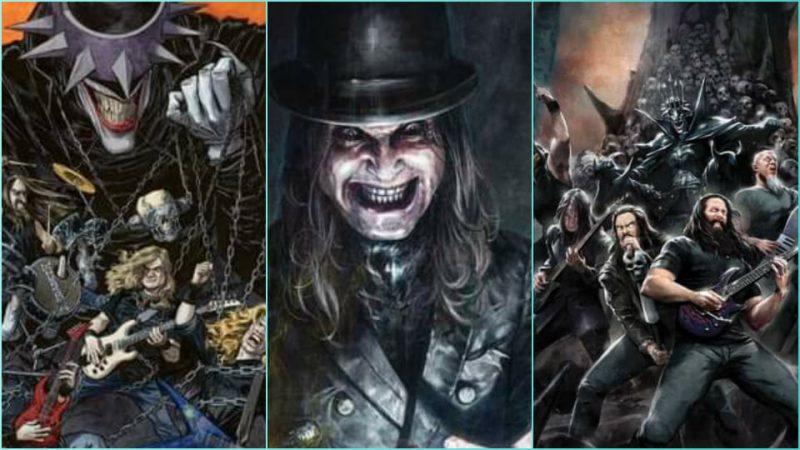 Ozzy, Dream Theater, Megadeth, Ghost y más llegarán a las portadas de DC cómics en una nueva serie de Dark Nights: Death Metal – Band Edition
