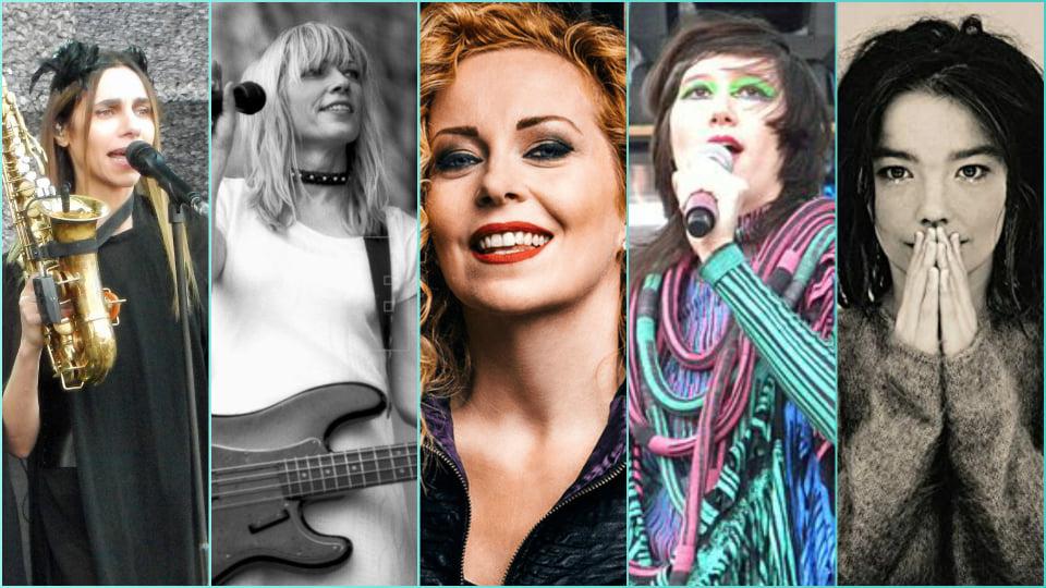 Playlist Especial 8M: Mujeres que nos volaron la cabeza