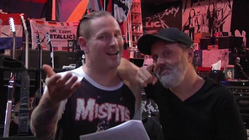 """Corey Taylor sobre Lars Ulrich: """"Estaba bien en tantos niveles al demandar a Napster"""""""