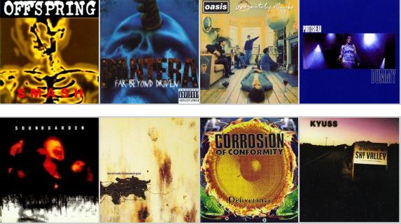 20 discazos que cumplen 20 años: nuestros discos favoritos de 1994 (Primera Parte)