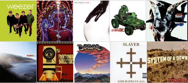 Nación Rock en el tiempo Vol. VI: Los discos y canciones que marcaron 2001