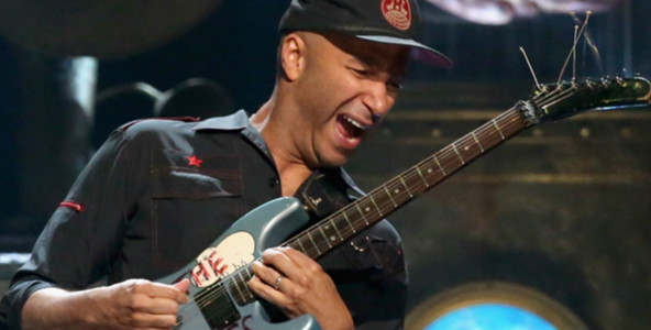 VIDEO: Tom Morello enseña sus trucos de guitarra en Rage Against The Machine y Audioslave