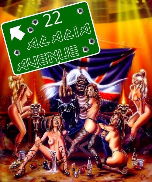"""Cancionero Rock: """"Charlotte the Harlot"""" / """"22 Acacia Avenue"""" – Iron Maiden"""