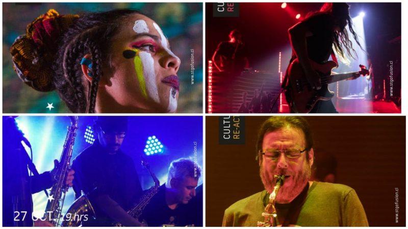 Ciclo Cultura Re-activa trae de vuelta a los escenarios a grandes bandas chilenas