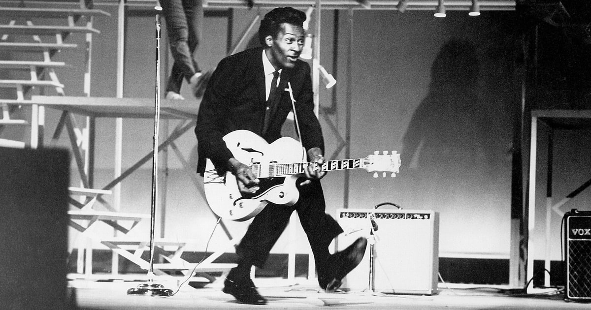 "2×1: ""Johnny B Goode"" Chuck Berry vs. Judas Priest"