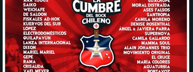 La Cumbre del Rock Chileno anuncia su cartel definitivo, revísalo acá