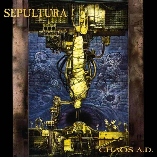 """Concurso: Gana el CD doble de Sepultura """"Chaos A.D. Extended Edition"""""""
