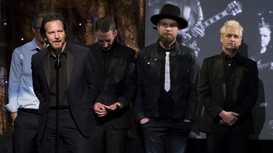 VIDEO: La inducción de Pearl Jam al Rock'n' Roll Hall of Fame, completa y subtitulada