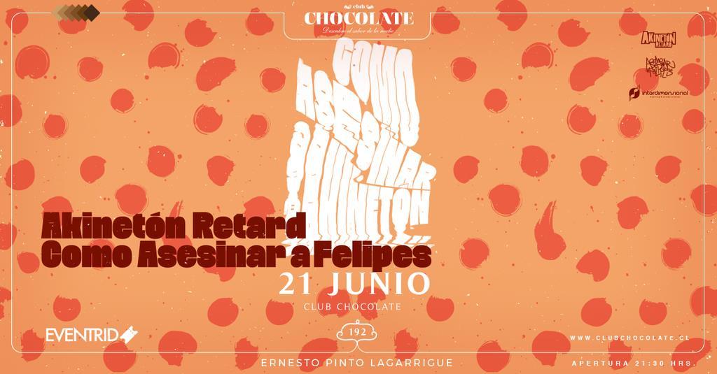 Fusión y sicodelia: Akinetón Retard y Como Asesinar a Felipes se presentan este 21 de junio en Club Chocolate