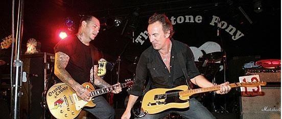 VIDEO: Bruce Springsteen compartió escena junto a Social Distortion en vivo