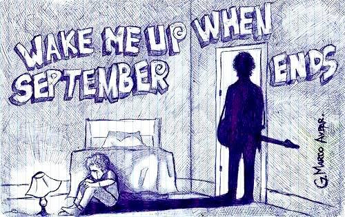 """Cancionero Rock: """"Wake Me Up When September Ends"""" – Green Day (2004)"""