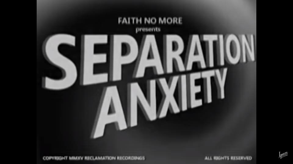 Estreno: Faith No More recurre al cine de terror de los '50 en su nuevo video: 'Separation Anxiety""