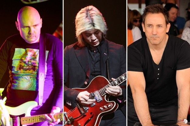Billy Corgan, James Iha y Jimmy Chamberlin se muestran reunidos nuevamente en el estudio