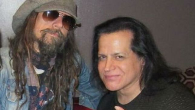 VIDEO: Glenn Danzig y Rob Zombie se unieron en el escenario en concierto Halloween