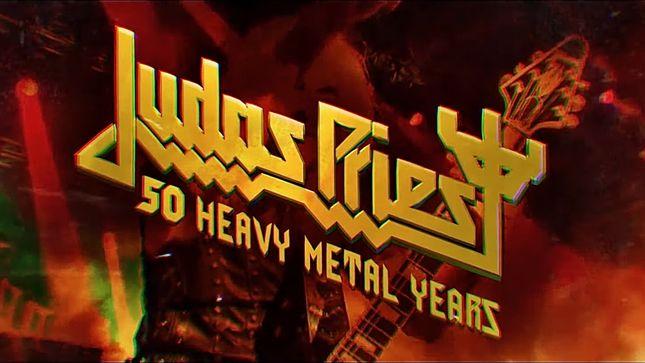 Judas Priest lanza libro que documentará sus 50 años de historia