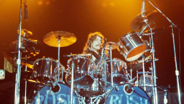 La batería clásica de Neil Peart de Rush de los '70's salió a subasta y fue comprada en 500.000 dólares
