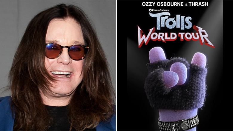 Ozzy Osbourne prestará su voz para la pelicula animada Trolls:World Tour