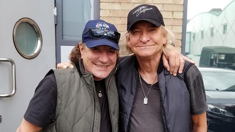 Brian Johnson de AC/DC está haciendo música con Joe Walsh de los Eagles