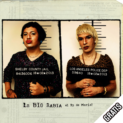 "La BIG Rabia presenta nuevo video y EP de covers ""Oh! María"""