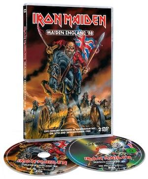 """Iron Maiden lanza un nuevo DVD doble: """"Maiden England '88"""""""