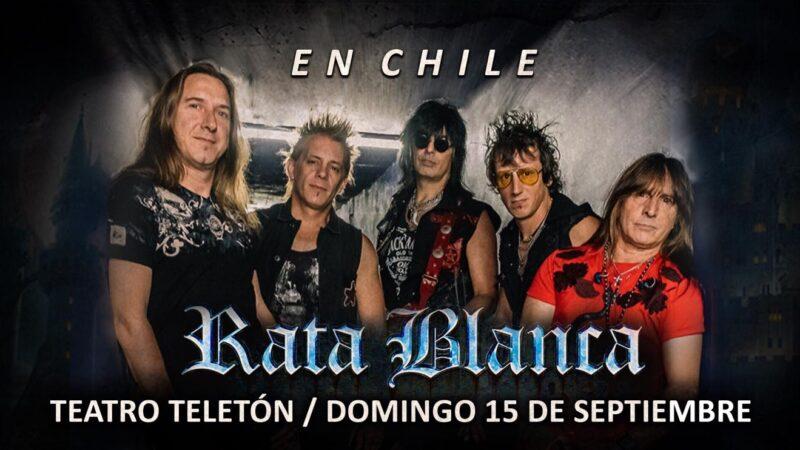 Rata Blanca vuelve a Chile para realizar conciertos en Santiago y provincias