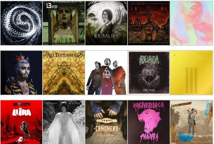 Nacion Rock Awards versión criolla: Los 20 mejores discos nacionales 2015
