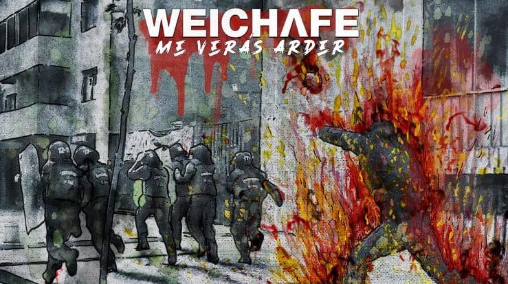 """""""Me Verás Arder"""": Weichafe lanza primer adelanto de su nuevo álbum en apoyo a manifestaciones chilenas"""