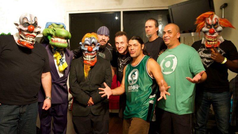 Videos: Así fue la esperada reunión de Infectious Grooves en Brasil