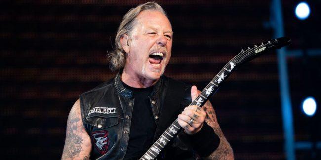 """James Hetfield: """"Hemos escrito más de 10 nuevas canciones para el nuevo álbum de Metallica"""""""